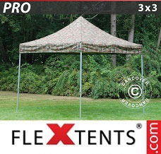 Canopy 3x3 m Camouflage/Military