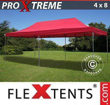 Canopy 4x8 m Red
