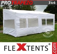 Canopy 3x6m White, incl. 4 sidewalls