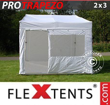 Canopy 2x3m White, incl. 4 sidewalls