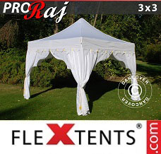 Canopy 3x3 m White/Gold