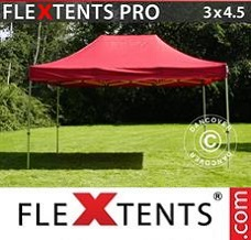 Canopy 3x4.5 m Red