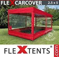 Canopy  2,5x5 m, Red