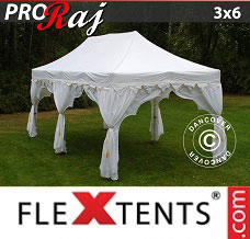 Canopy 3x6 m White/Gold