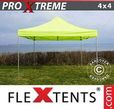 Canopy 4x4 m Neon yellow/green