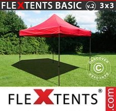 Canopy 3x3 m Red