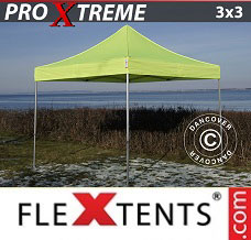 Canopy 3x3 m Neon yellow/green