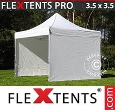 Canopy 3.5x3.5m White, incl. 4 sidewalls