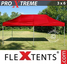 Canopy 3x6 m Red