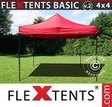 Canopy 4x4m Red