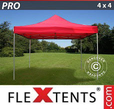 Canopy  4x4 m Red
